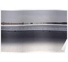 Across Lake Fowler Poster