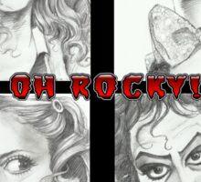 'Rocky Horror' gourmet caricatures by Sheik Sticker