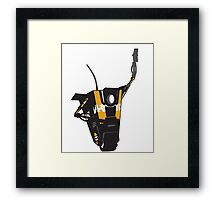 CLAPTRAP HIGH FIVE Framed Print
