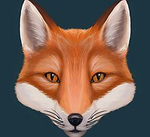 Fox Face by cailinB