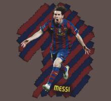 Lionel Messi #1 One Piece - Short Sleeve