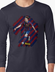 Lionel Messi #1 Long Sleeve T-Shirt