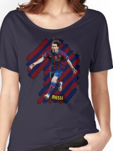 Lionel Messi #1 Women's Relaxed Fit T-Shirt