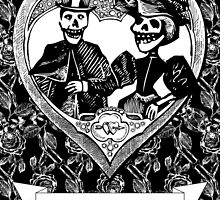 AMOR ETERNO / ETERNAL LOVE - Black & White by EclecticAtHeART