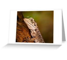 """Dragon Lizard"" Greeting Card"