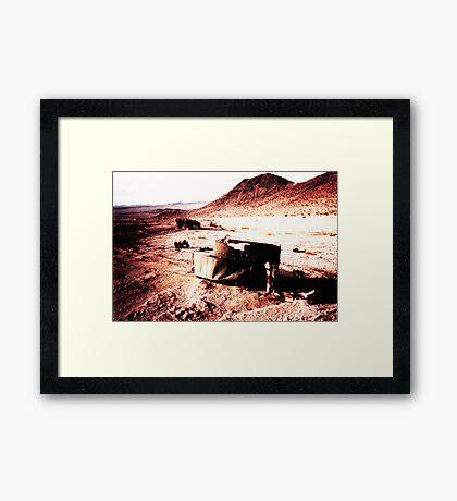 Carnage in the Desert Framed Print