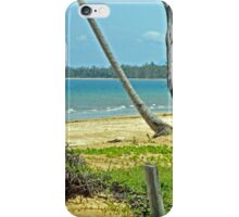 Tropical Tranquility at South Mission Beach iPhone Case/Skin