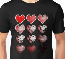 The evolution of love Unisex T-Shirt
