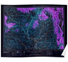 USGS Topo Map Oregon Baker 283294 1959 250000 Inverted Poster