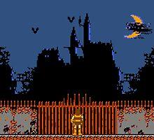 Castlevania - Dracula's Castle by muramas