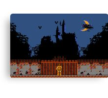 Castlevania - Dracula's Castle Canvas Print