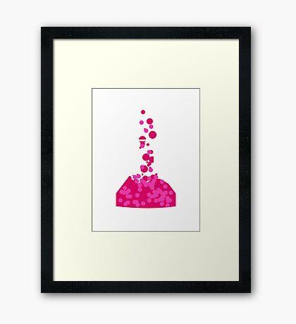 You're Overreacting Chemistry Science Beaker Framed Print