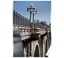 """Pasadena Bridge"" Poster"