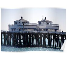 """Malibu Pier"" Poster"