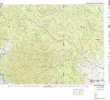USGS Topo Map Oregon Nehalem River 283107 1979 100000 by wetdryvac