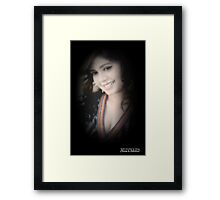 """""""A Girl should be two things: Classy & Fabulous"""" COCO CHANEL Framed Print"""