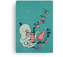Tea and Tentacles Canvas Print