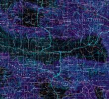 USGS Topo Map Oregon Canyon City 283312 1955 250000 Inverted Sticker