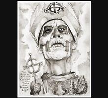 'Papa Emeritis II' gourmet caricature by Sheik Unisex T-Shirt