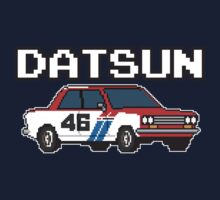 Datsun 510 8Bit Kids Tee