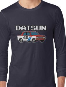 Datsun 510 8Bit Long Sleeve T-Shirt