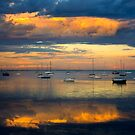 Reflecting Clouds - Geelong by Hans Kawitzki