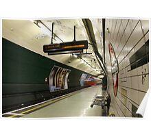 Underground Station - London Poster