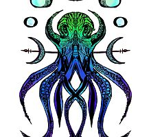 Octogram Blue Green by WoundedHearts