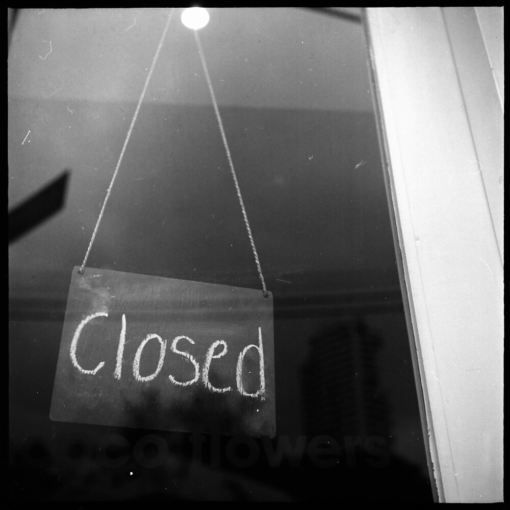 """""""closed"""" - surry hills coffee culture by 58glass"""