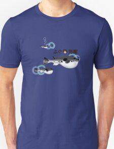 Fugu under the water Unisex T-Shirt
