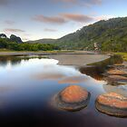 Tidal River Sunrise by Richard  Cubitt