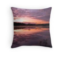 Time to Reflect Throw Pillow
