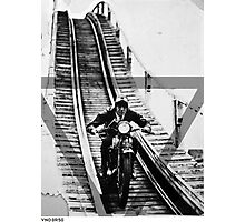 VNDERFIFTY ROLLER COASTER RIDER Photographic Print