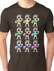 Hearty robots Unisex T-Shirt