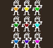 Hearty robots Unisex T-Shirt