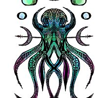 Octogram Green Purple by WoundedHearts