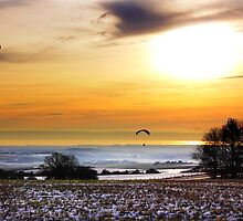 Soaring Above The Downs by Leon Ritchie