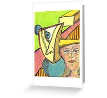 projection Greeting Card