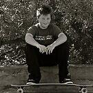 Skater Boy.....Tan Tien Style! by Helen Vercoe