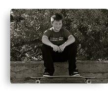 Skater Boy.....Tan Tien Style! Canvas Print