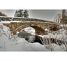 Bridge over the Moy Burn Photographic Print