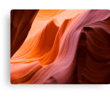 The Wave at Antelope Canyon Canvas Print