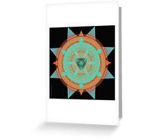 Beautiful Desert Mandala Greeting Card