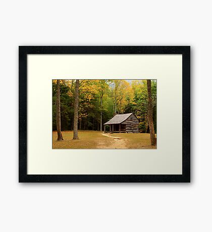 Autumn In The Cove Framed Print