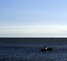 The man and the sea by msokal