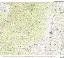 USGS Topo Map Oregon Yamhill River 283132 1980 100000 by wetdryvac