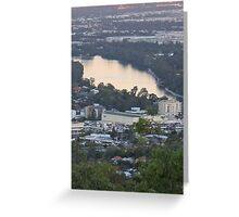 Brisbane Suburban Sunset Greeting Card