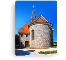 The village church of Eggendorf im Traunkreis Canvas Print