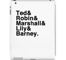 How I Met Your Mother& iPad Case/Skin
