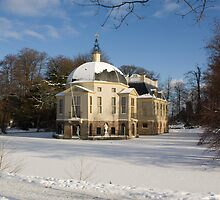 Trompenburgh Castle in the Snow by theBFG
